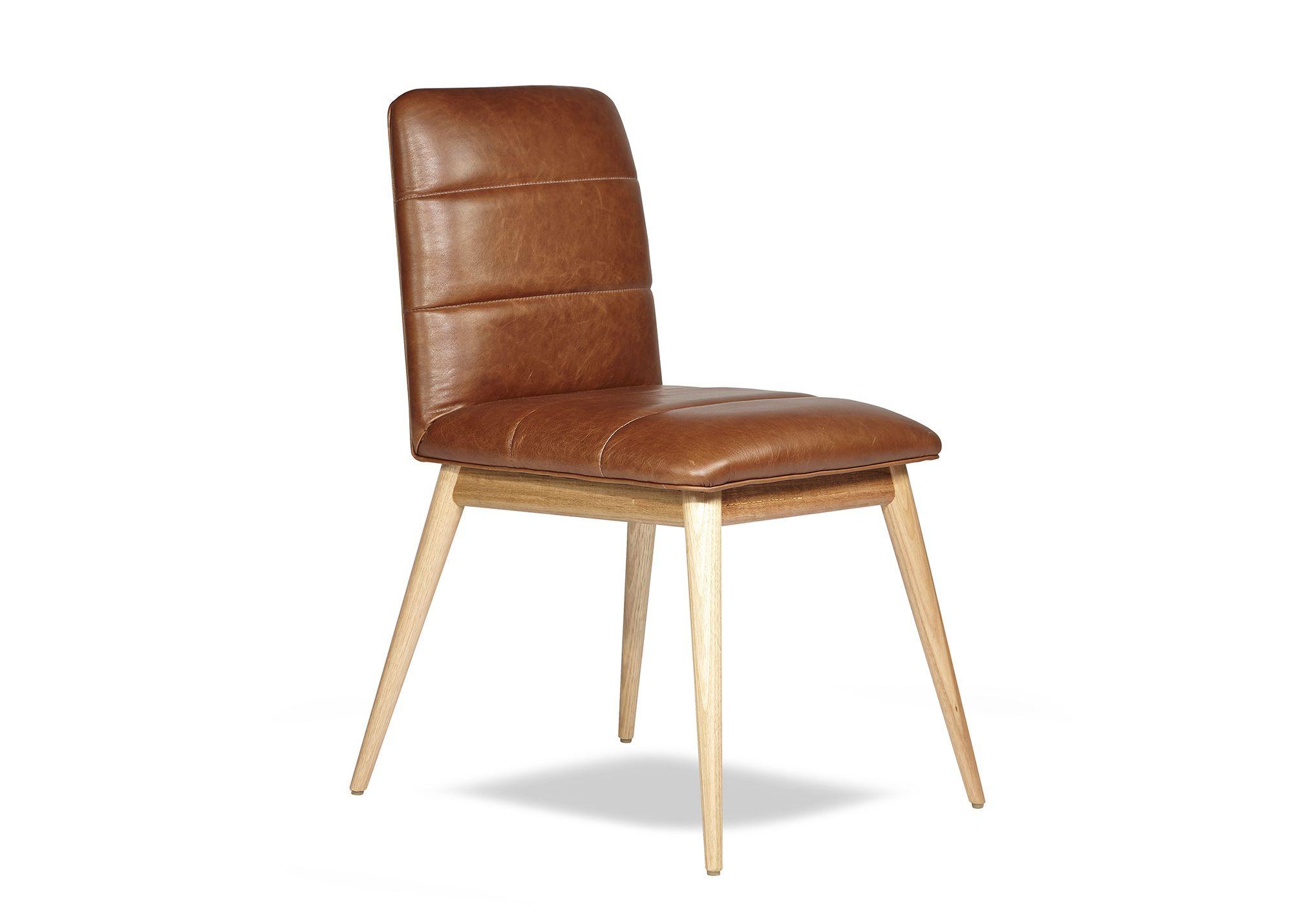 Arthur G Reuben Chair Leather Dining Chair Australian
