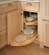 Storage Solutions Details - Base Blind Corner w/ Wood Lazy ...