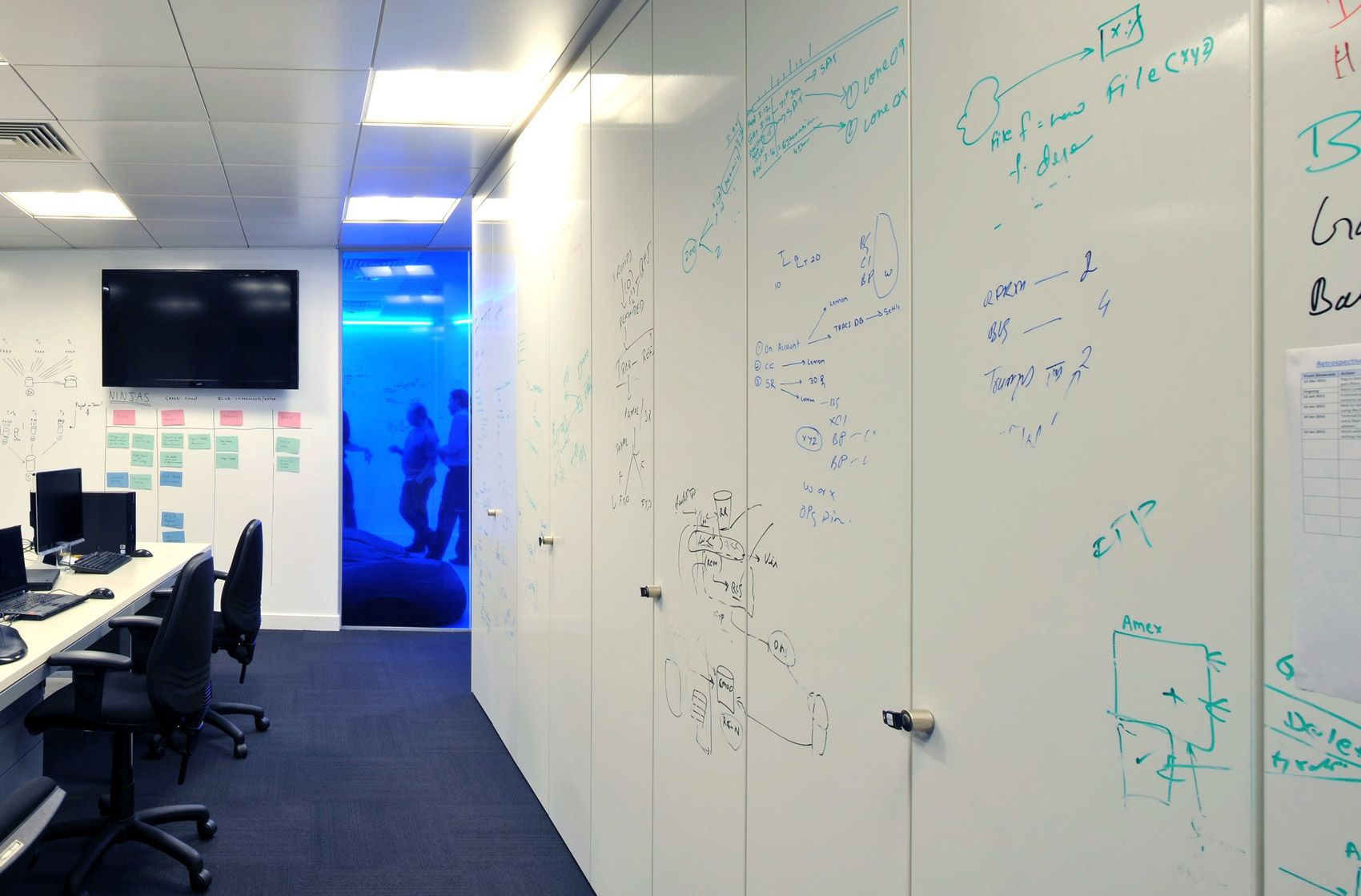How To Turn A Wall Into A Whiteboard Inspirational Office Design Ceiling Office Designs And