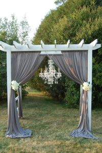 Drapes for outdoor pergola..where to find? : weddingplanning