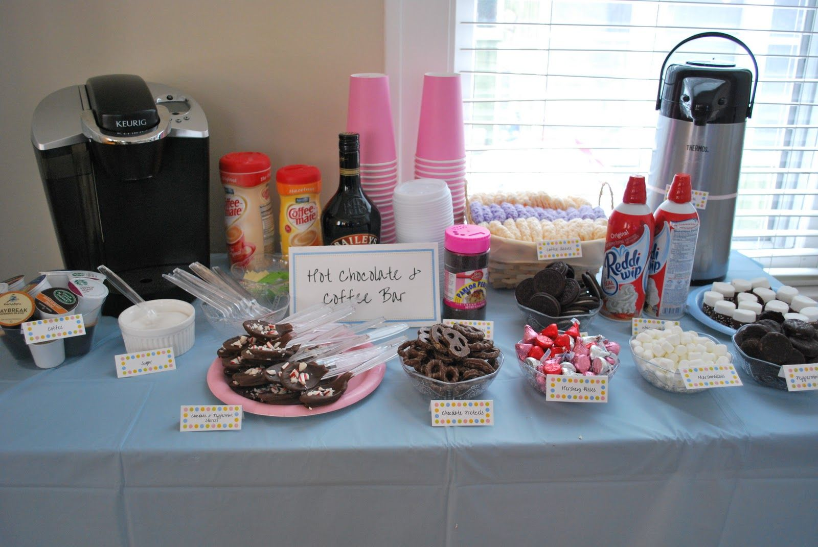 Coffee Bar Ideas For Party Hot Chocolate Bar Party And Accessories Madeleine 39s