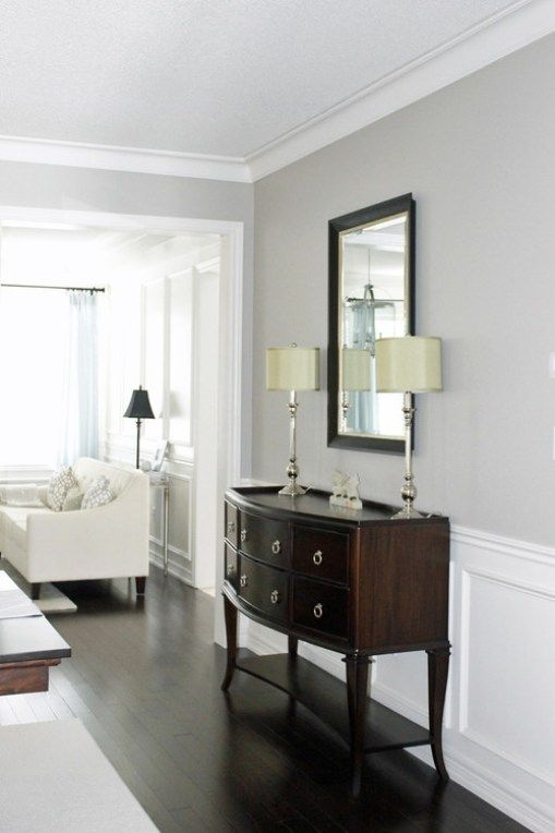 Colour Review Benjamin Moore Revere Pewter Gray paint colors - best neutral paint colors for living room
