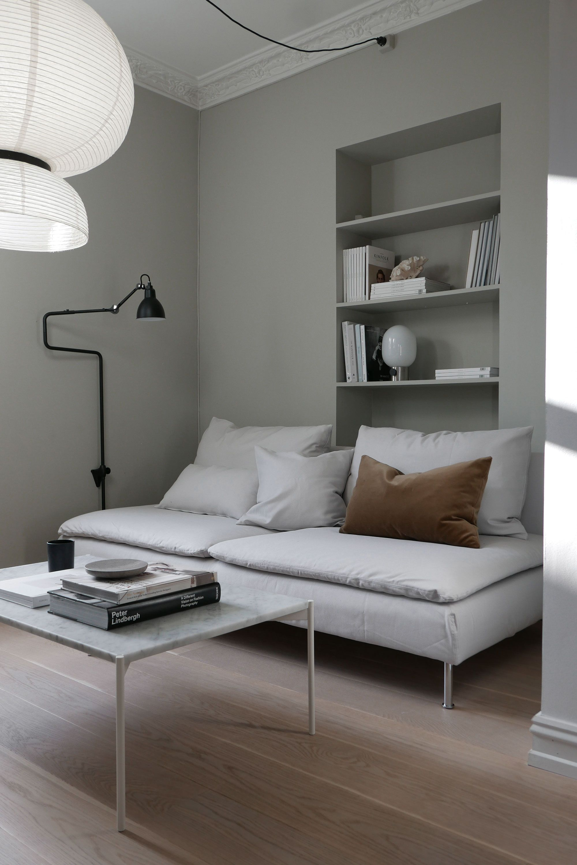 Ikea Staffelei Super Stylist Updated Her Ikea Söderhamn Sofa Bed With A