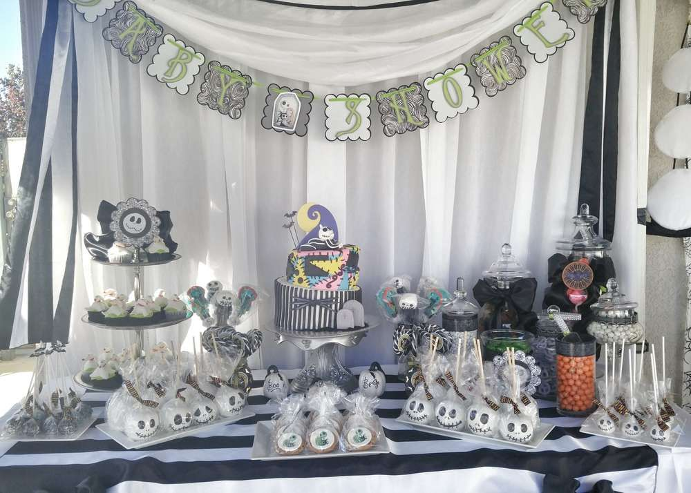 Nightmare Before Christmas Baby Shower Party Ideas Christmas - nightmare before christmas bedroom decor