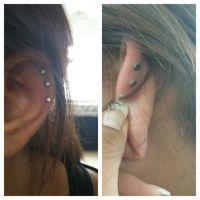 flat back earrings | i need these! Hate trying to sleep on ...