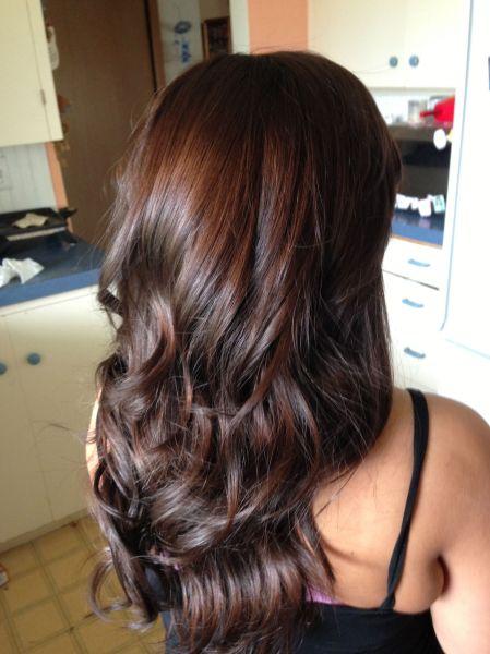 Reddish Brown Hairstyles