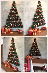 Flat Wall Christmas Tree | Christmas decor | Pinterest ...