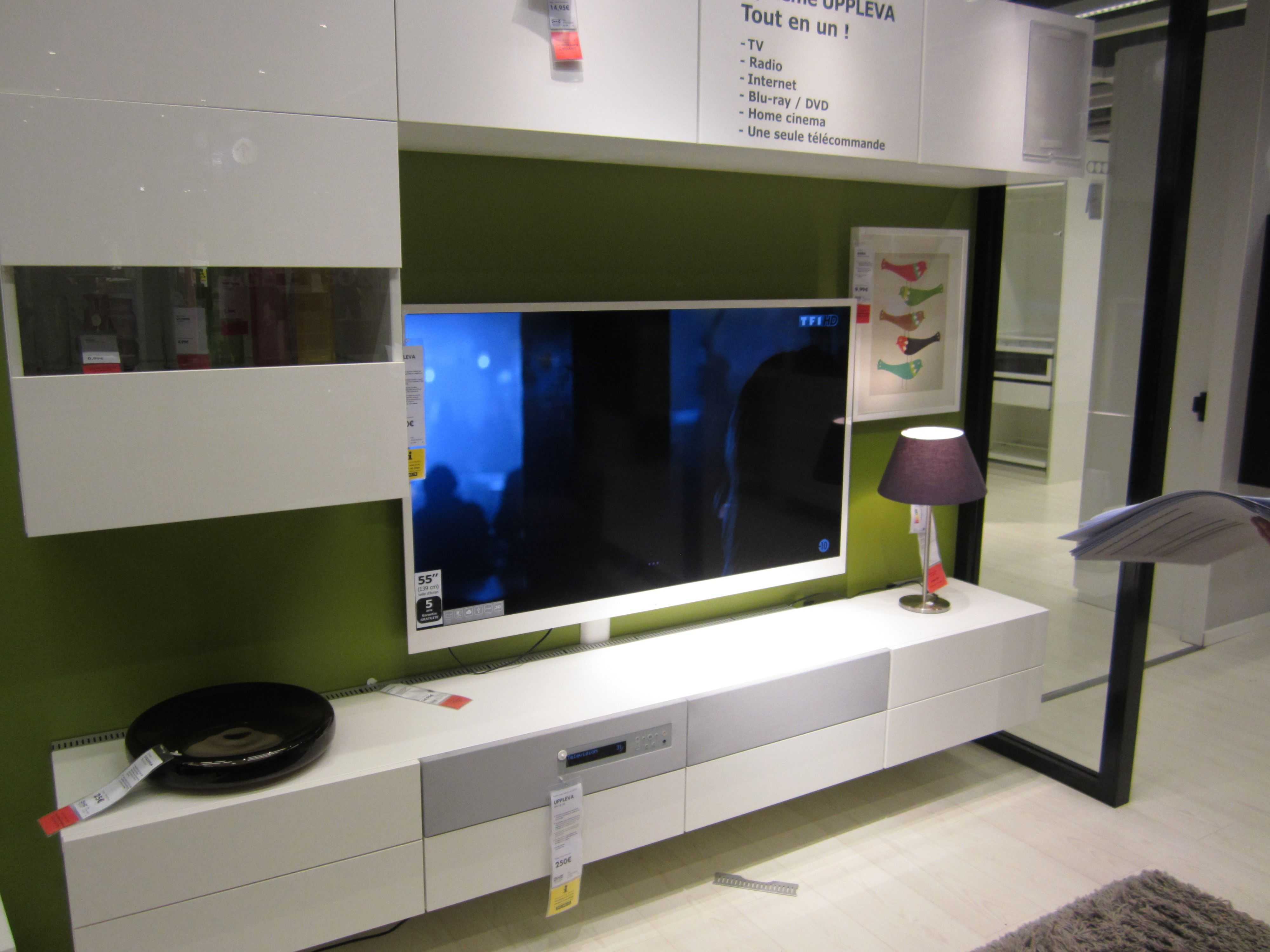 Meuble Cuisine Suspendu Ikea Meuble Ikea Tv Suspendu Uppleva Salon Pinterest Salons