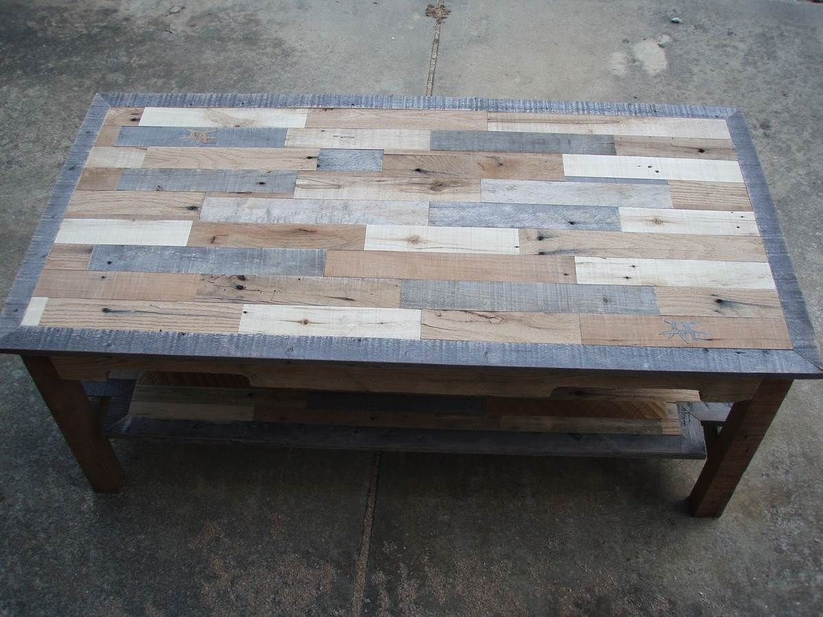 Woodworking Table Ideas Conklin Coffee Table Pallet Wood Coffee Table Series