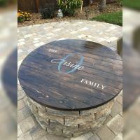Fire pit table top . | backyard | Pinterest | Table top ...