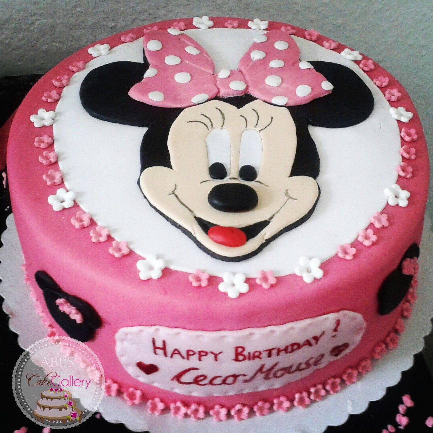 Minnie Maus Kuchen Deko | Micky Maus Deko Geburtstag Minnie Mickey ...