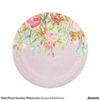 Best 25+ Floral paper plates ideas on Pinterest | Party ...