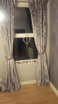 Crushed velvet curtains | Home bits and bobs | Pinterest ...