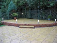 patio ideas | Sample garden designs landscaping and ...