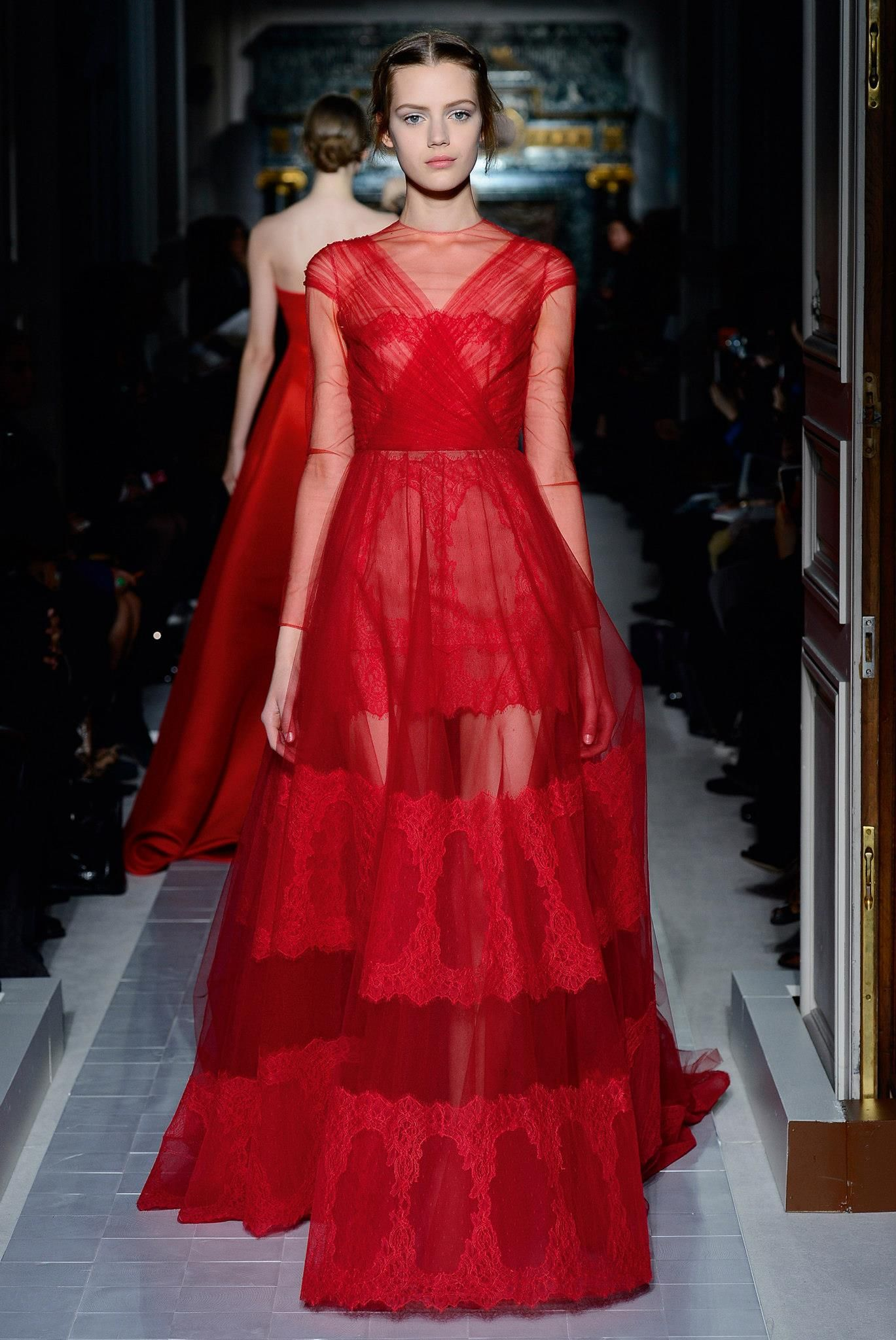 Dsign Valentino Valentino Red Dress Collection A Graceful Impact