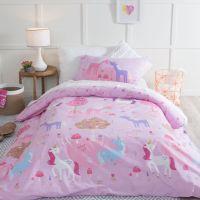 Unicorn Dreams Quilt Cover Set