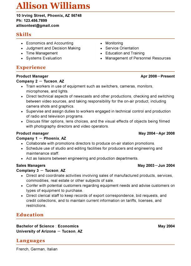 Amazing Functional Resume Layout Pictures - Simple resume Office - example of a functional resume
