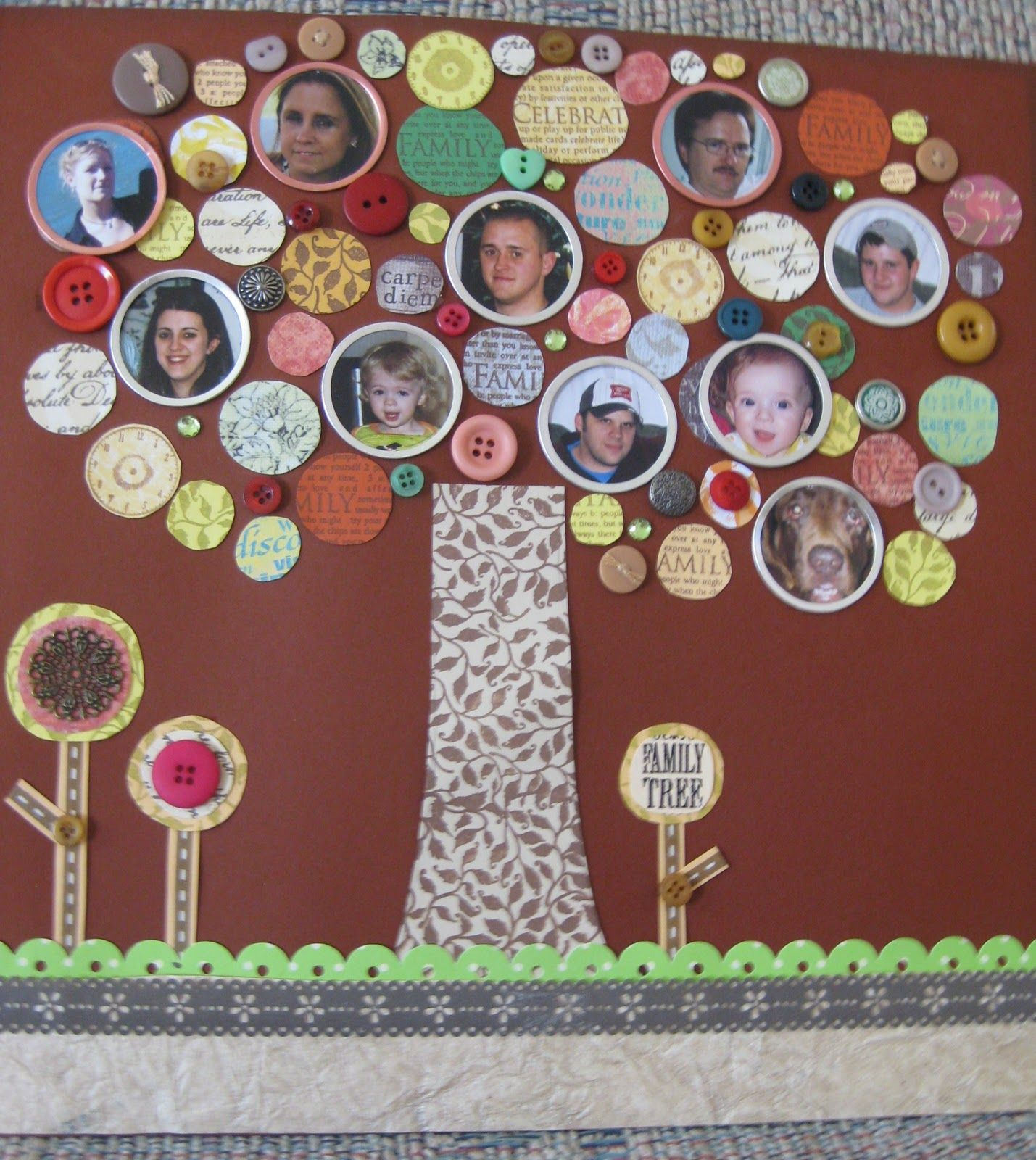 Family tree scrapbook paper invitation samples blog