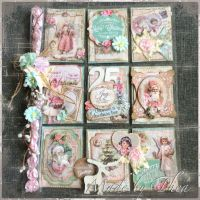 Shabby Chic christmas pocket letter... | Thea's Creations ...