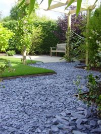 decorative garden slate aggregate - Google Search | Garden ...