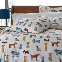 Dog Bedding for Kids | Dog pounds, Percale sheets and ...