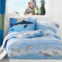 Sharks Percale Bedding Comforter Cover - Kids Decorating ...