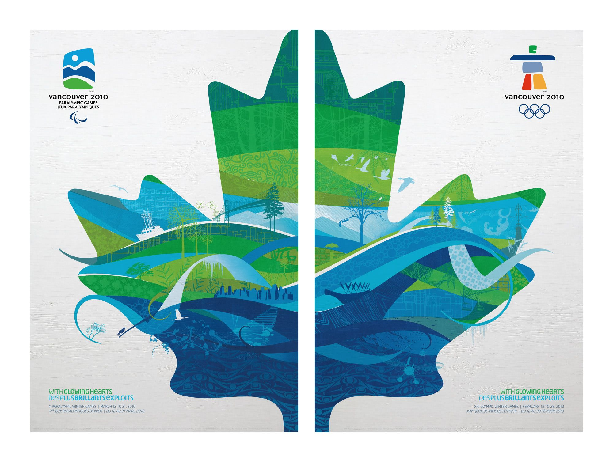 Vancouver 2010 olympics poster