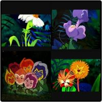 Alice in wonderland flowers from Golden Garden | Disney ...