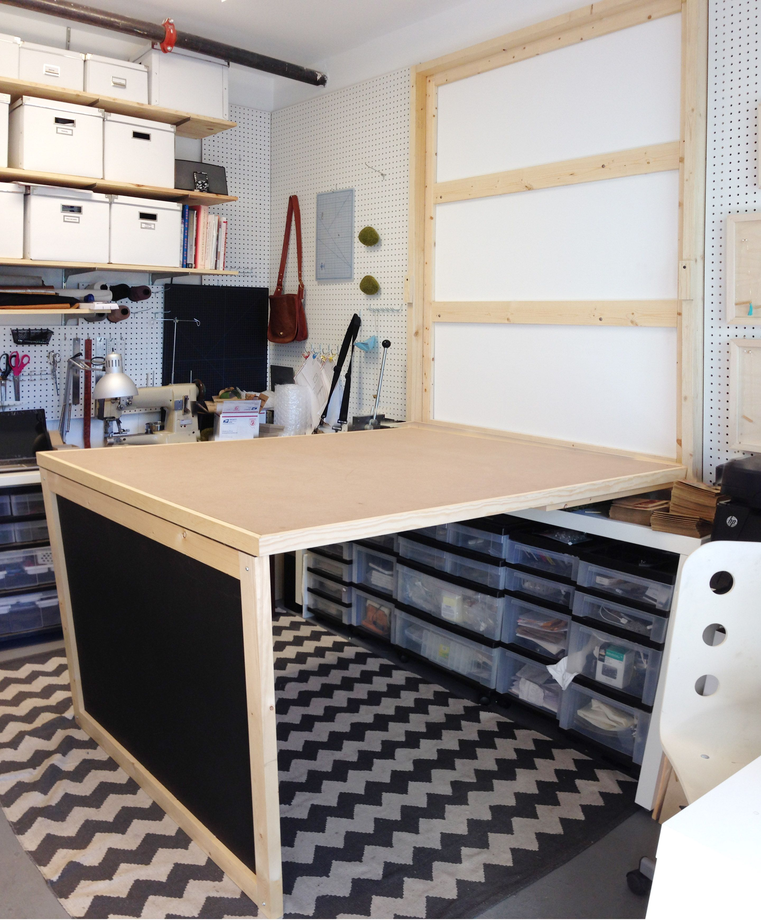 murphy kitchen table Murphy table made for the studio the urban smith www theurbansmith com