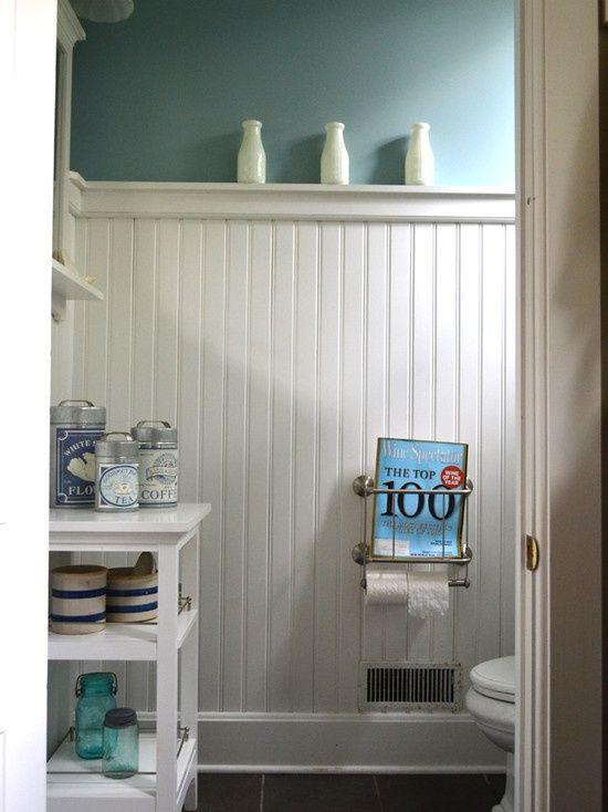 beadboard in bathroom,,,for my small bathroom Bathroom Ideas - beadboard bathroom ideas