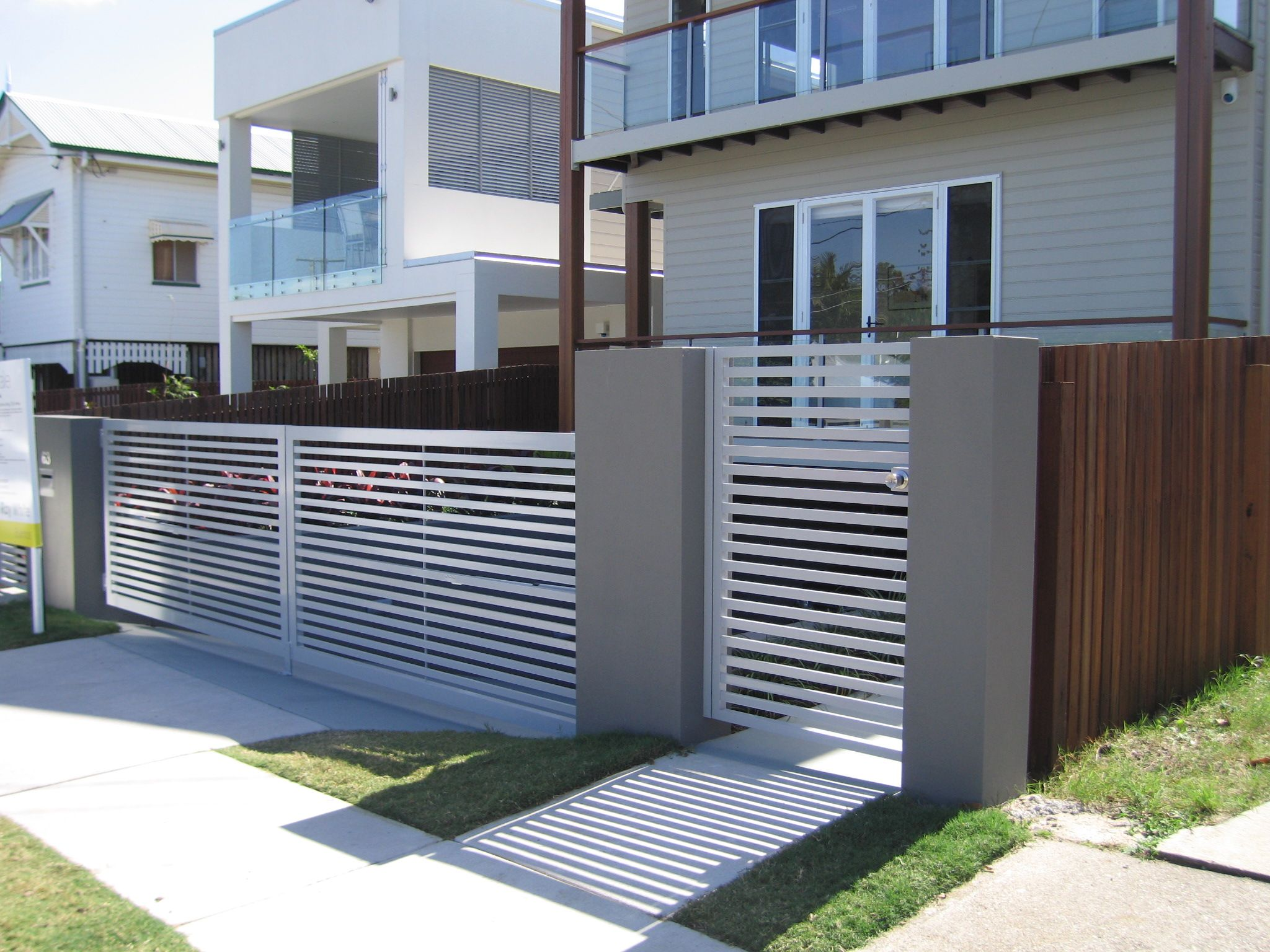 Steel gates adelaide sunlander outdoor products 600x450 jpeg - Steel Gates Adelaide Sunlander Outdoor Products 600x450 Jpeg This Digital Photography Of Lattice Fences And Download