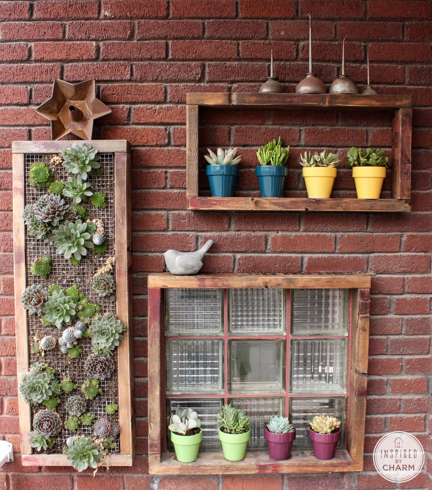 Plant Shelves For Walls Best 25 43 Outdoor Wall Art Ideas On Pinterest Patio Wall