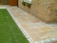 Indian Sandstone Paving - Natural Stone Patio Flags ...
