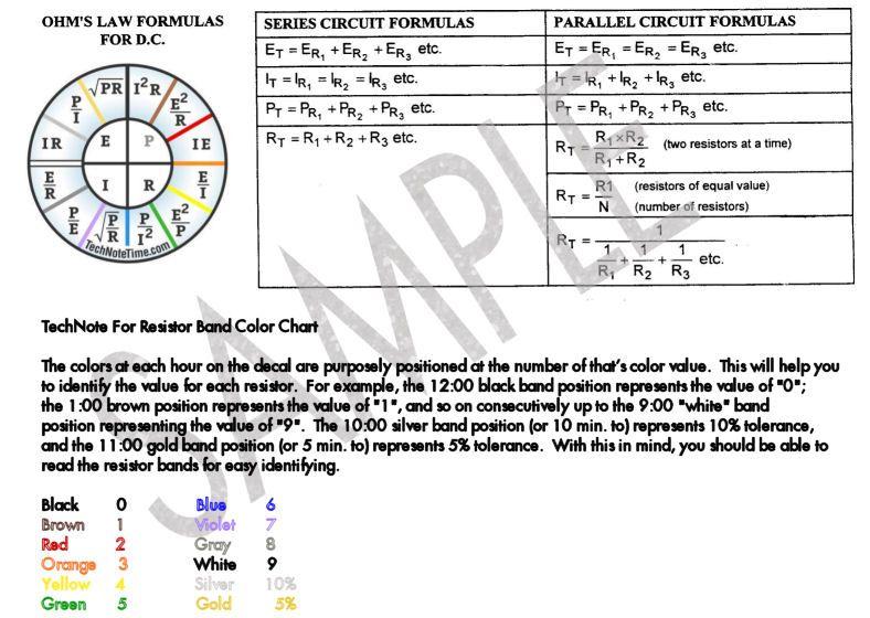 circuit schematics and ohm s law