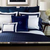 Lauren Suite Glen Plaid Navy Bedding by Lauren Ralph ...
