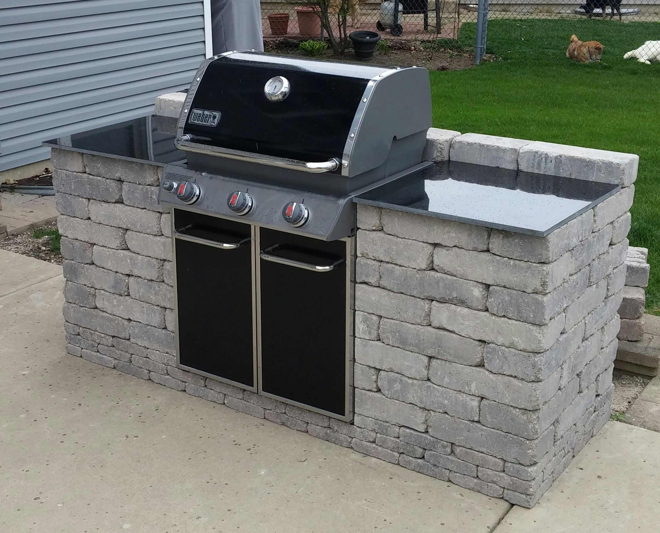 Outdoor Küche Do It Yourself Barbeque Grill Enclosure Do It Yourself Pinterest