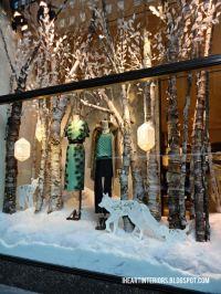 Winter Window Display on Pinterest | Christmas Window ...
