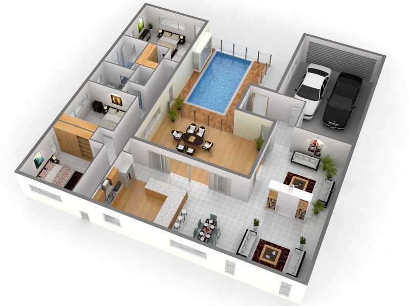 Best 25+ 3d home design ideas on Pinterest House design software - design bedroom online