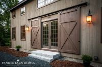 Grantham Lakehouse   Traditional exterior, Barn doors and Barn