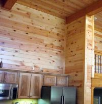 interior wood paneling | Knotty Pine Wall Paneling | New ...