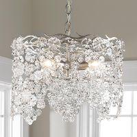Glass Lace Drum Chandelier | Drum chandelier, Glass ...