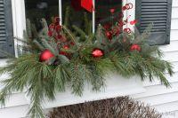 window box ideas | Winter Window Boxes {Lowes Creative ...