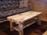 Half Log Coffee Table...   Log Family Room / Living Room ...
