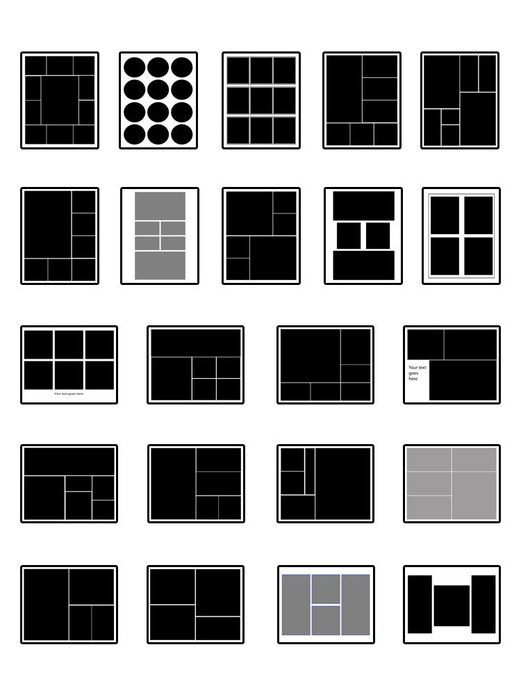 Photography Storyboard Template Instant Download Storyboard - digital storyboard templates