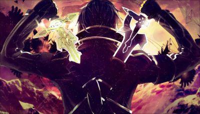[Wallpaper] Sword Art Online ~Kirito by KuronekoYuuki.deviantart.com on @DeviantArt | Sword Art ...