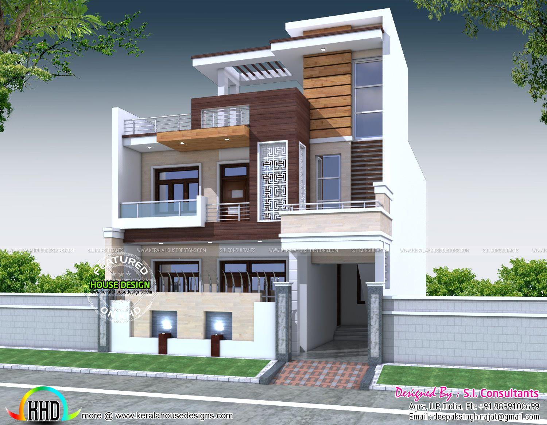 Home Design 50 Gaj Part - 43: 1 Gaj Square Meter Colors Home Design For 50 Gaj House Plan For 30 Feet By