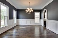 dining room wall color with white trim/chair rail. | For ...