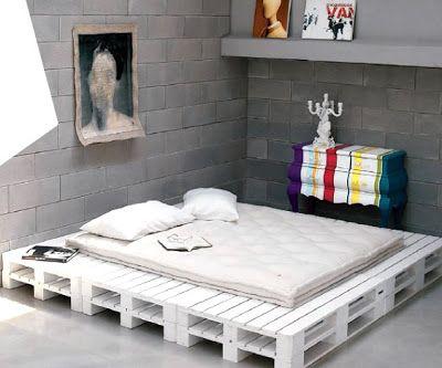 Günstige Kinderschlafzimmer mit Paletten2 Schöne Dinge - holz mobel aus europaletten bauen