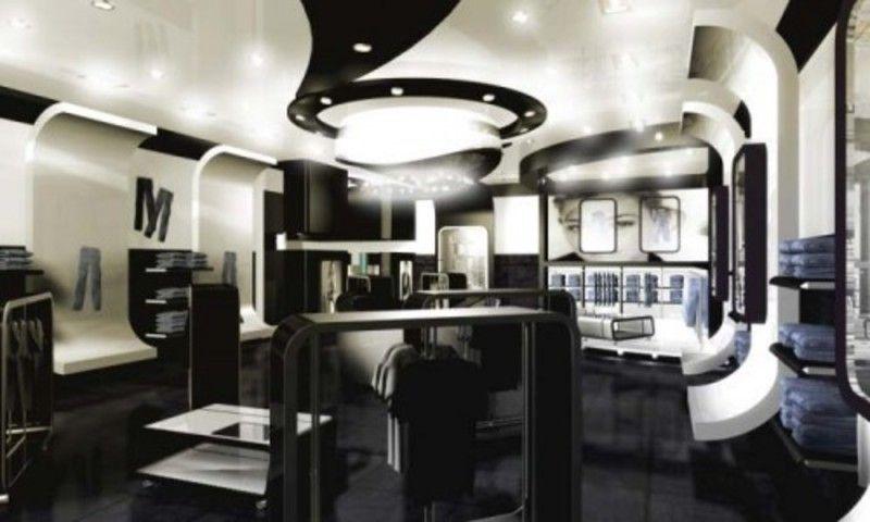 Modern And Futuristic Fashion Store Interior Design Ideas On - home design store
