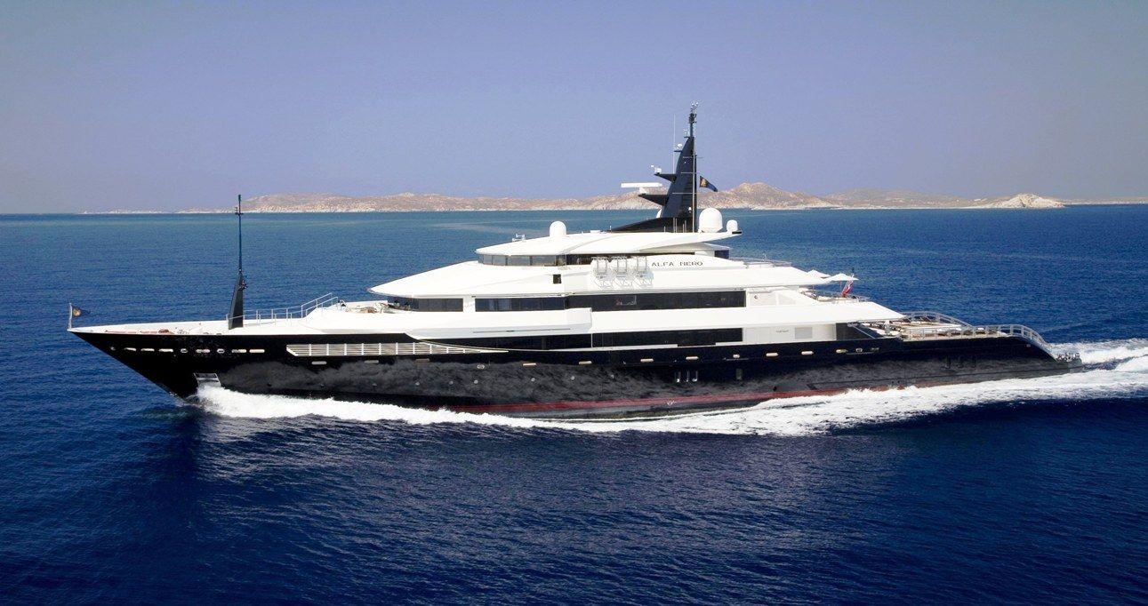 Photos of yachts yacht alfa nero luxury yacht charter